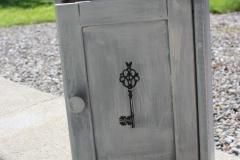 Schlüsselkasten Grau